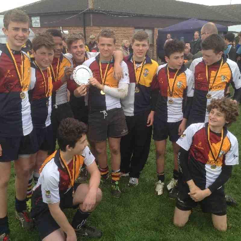 Quins u14s county shield winners