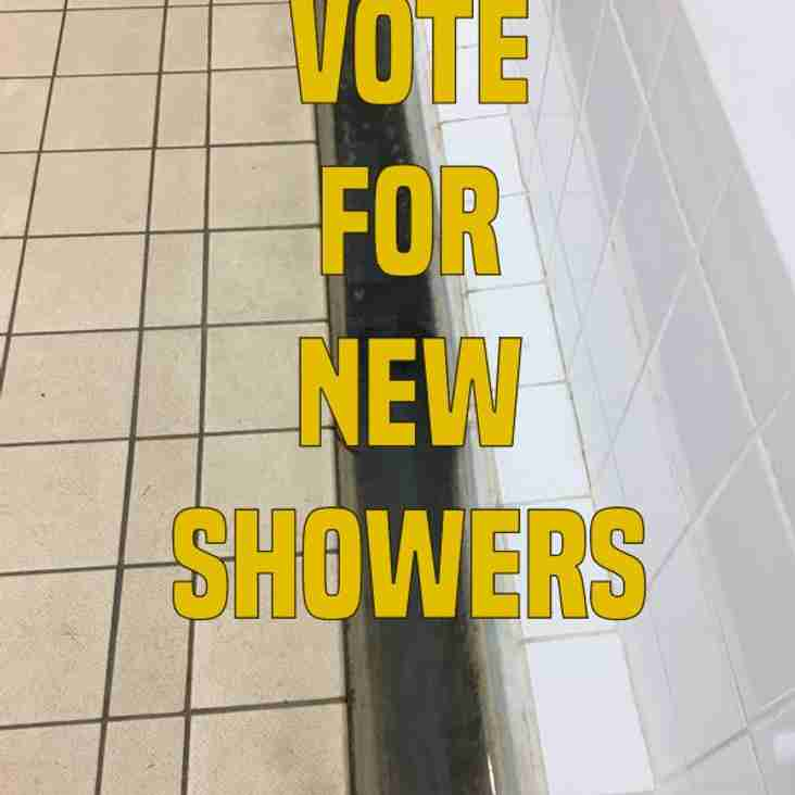 Grant may Bring Shower Block Improvements