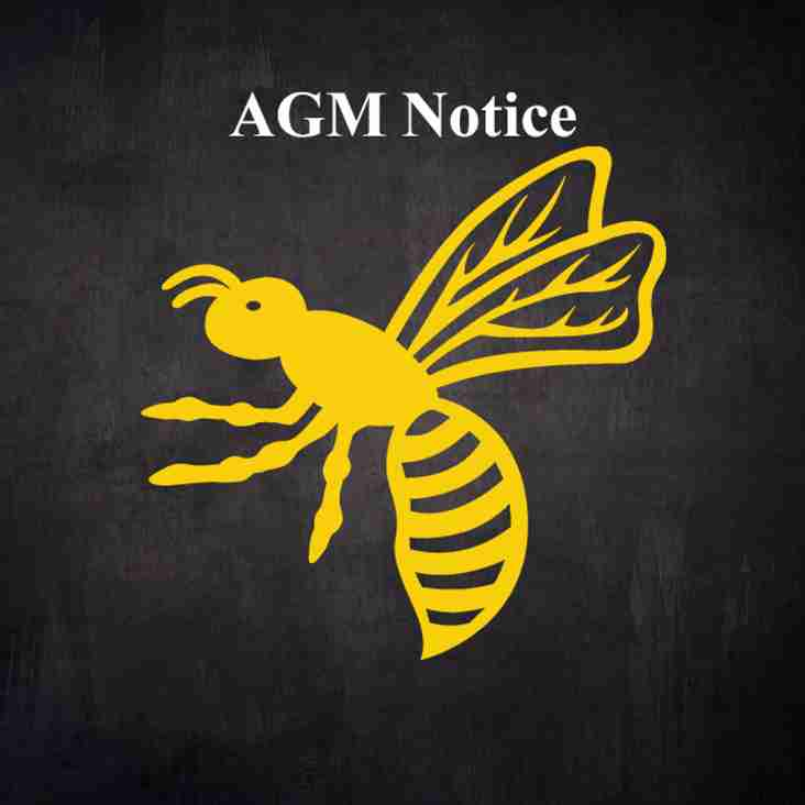 Wasps FC  AGM Notice - 152nd Season