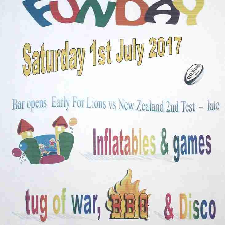 Mini's fun day  1st July