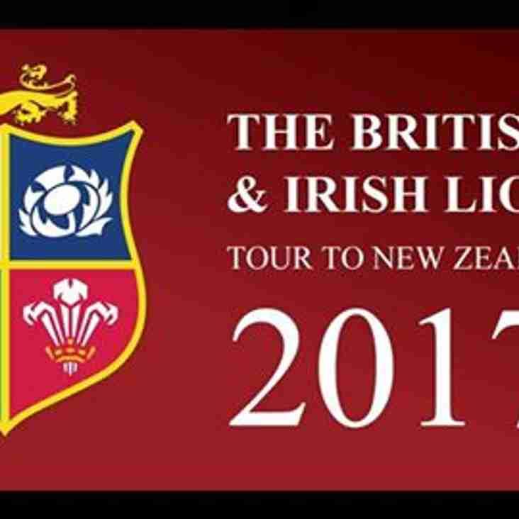The British & Irish  Lions Tour at Keynsham rfc