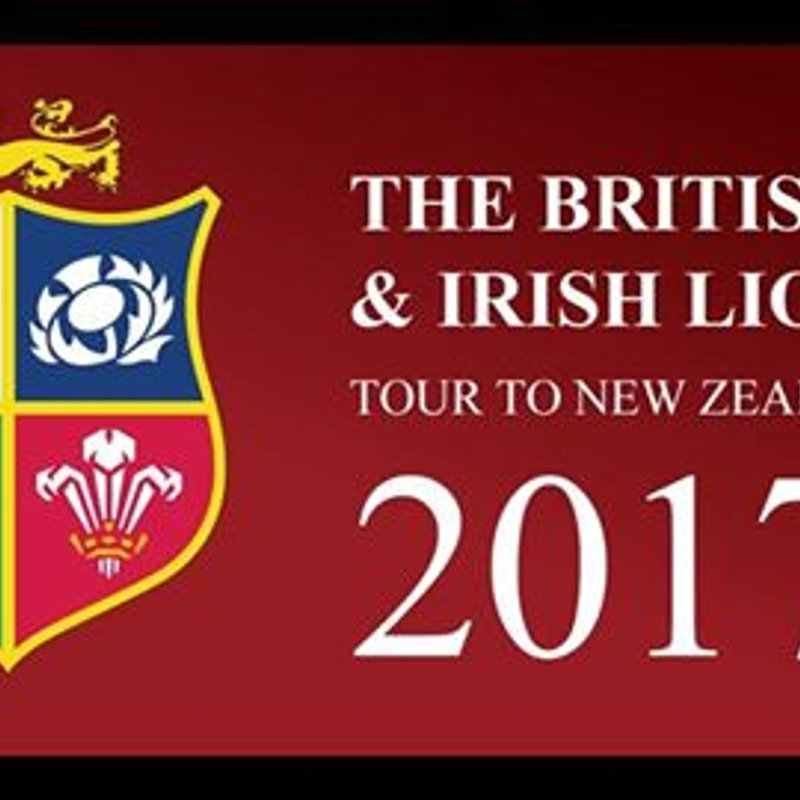 The British & Irish  Lions Tour at Keynsham rfc