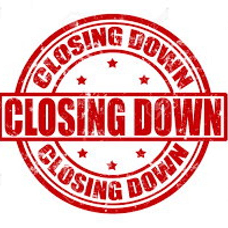 Website closing