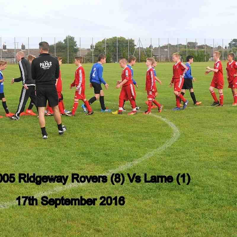 2005 Rovers Vs Larne 17th September 2016