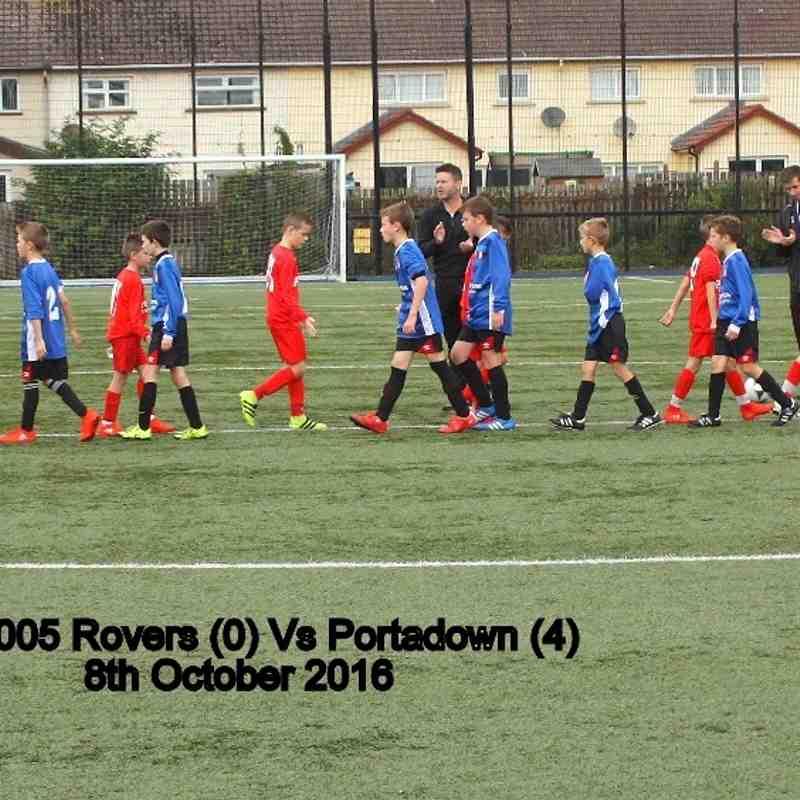2005 Rovers Vs Portadown 8th October 2016