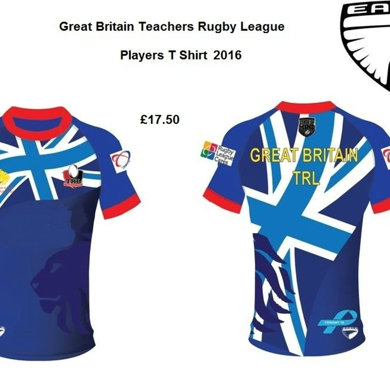 Great Britain Teachers RL Team wear 2016