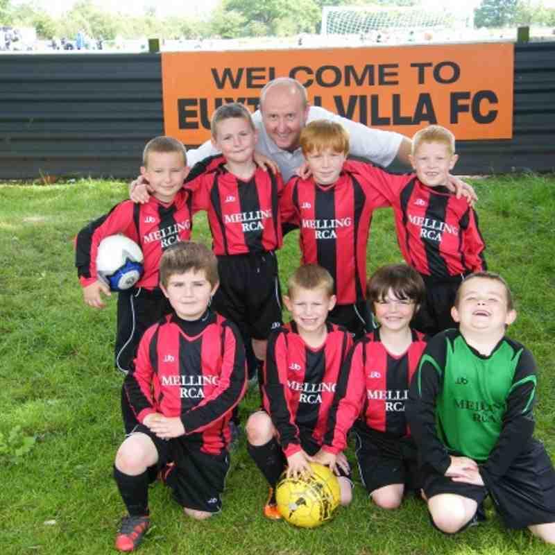 EUXTON VILLA FC ONE DAY TOURNAMENT - 21/05/2011