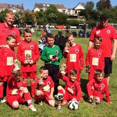 Sunday Under 8's Llandudno Tournament Winners
