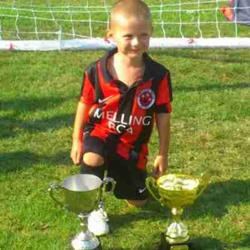 Happy birthday to Alfie Lynch of our Under 9's from everyone at Melling Boys