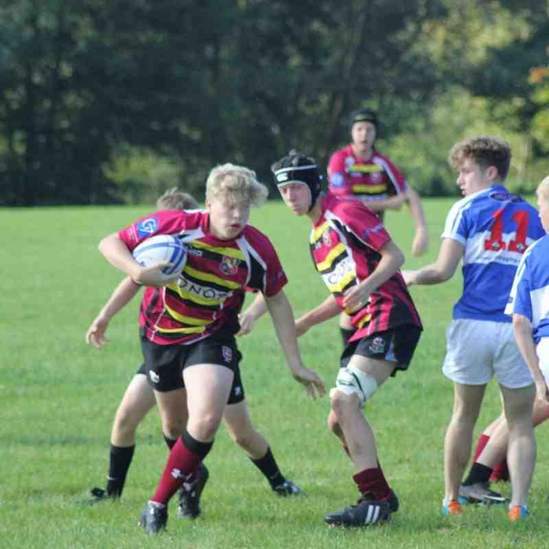 Aylesbury U16 vs Hemel Hempstead 20/9/15