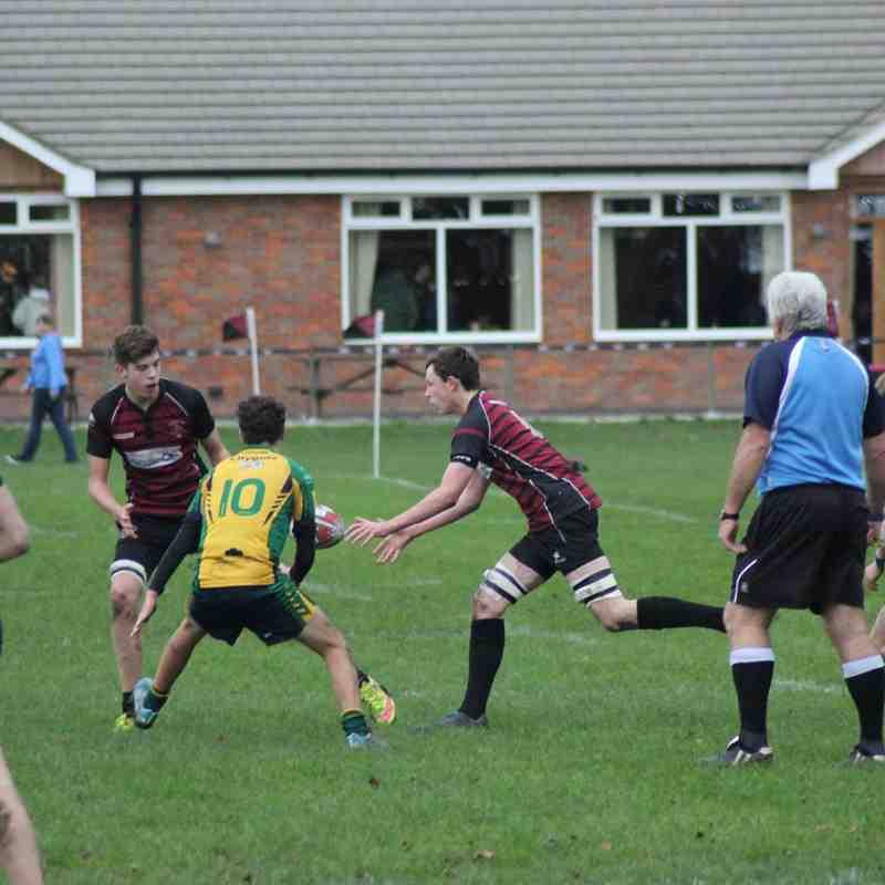 Aylesbury U16 vs Henley 6/12/15