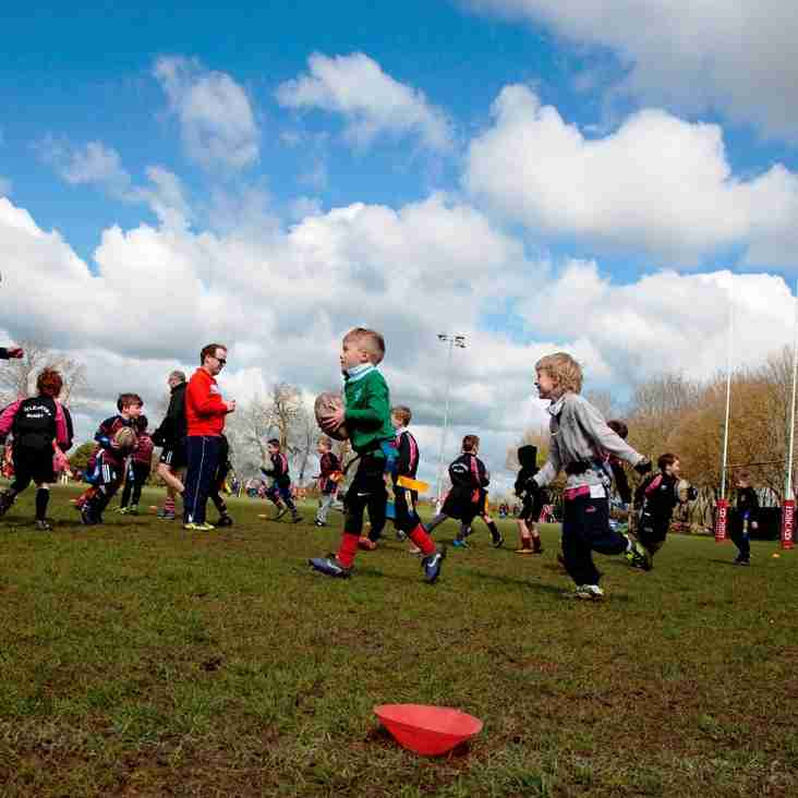 Rugby Fun starts - SUNDAY 4TH SEPTEMBER
