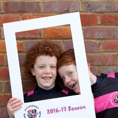U7s End of Season Portrait Fun