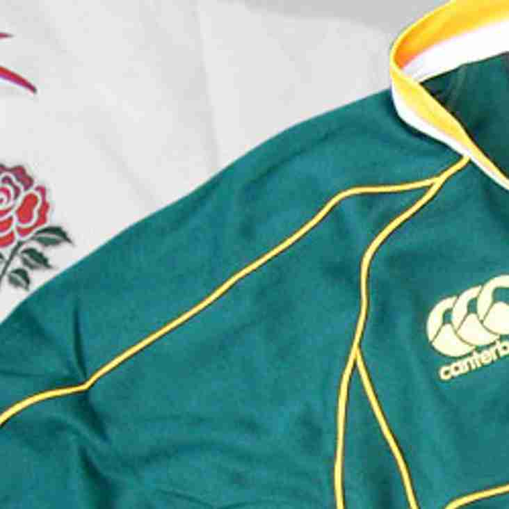 ENGLAND VS SOUTH AFRICA - WATCH IT AT AYLESBURY RFC THIS SATURDAY