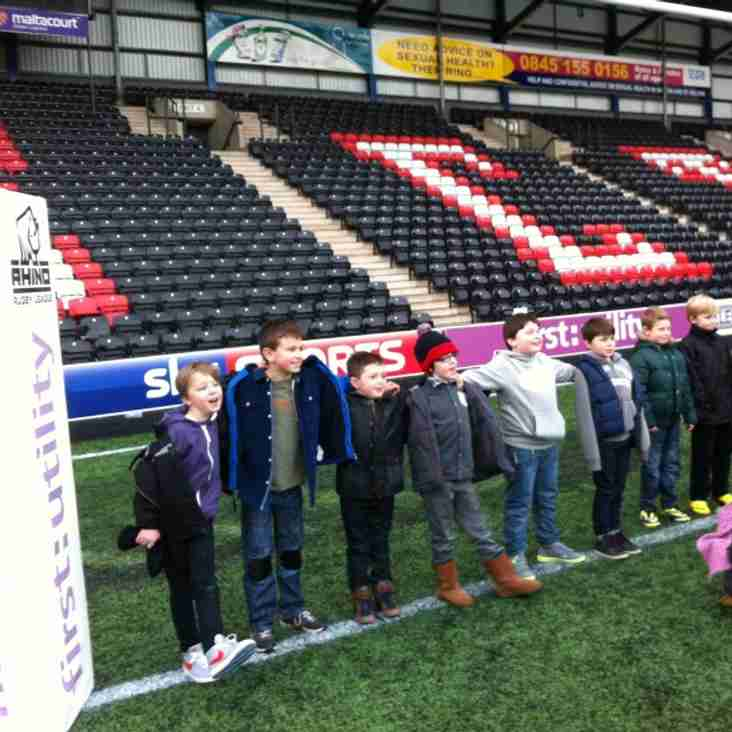 Trip to Widnes Vikings