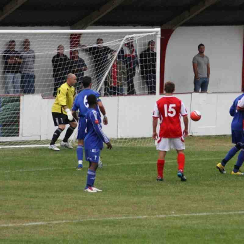 Whitstable Town 1 - 1 Grays Athletic by Steve Allen
