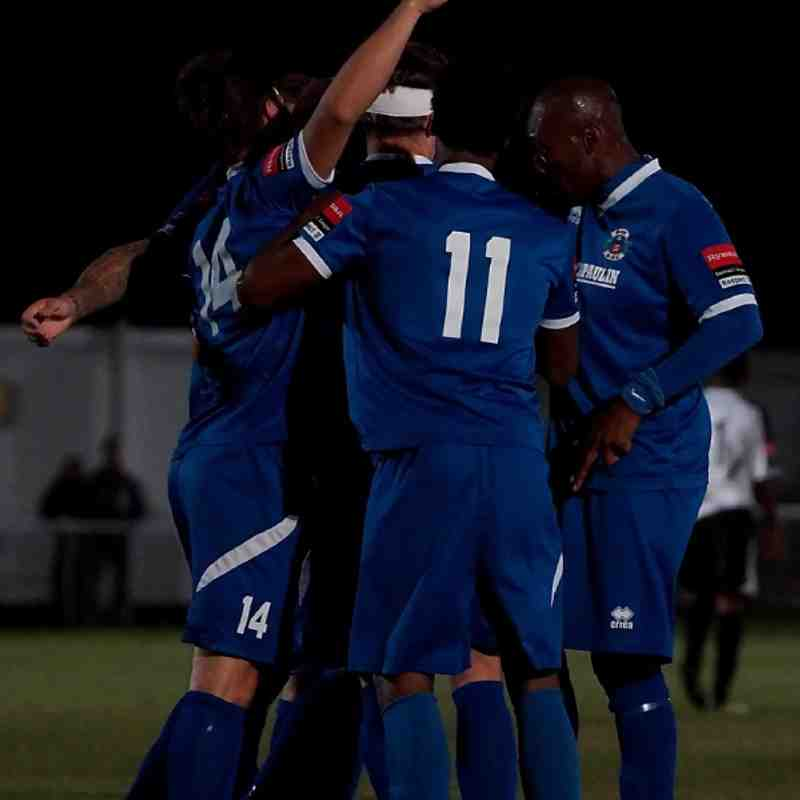 Grays Athletic 3 - 0 Heybridge Swifts