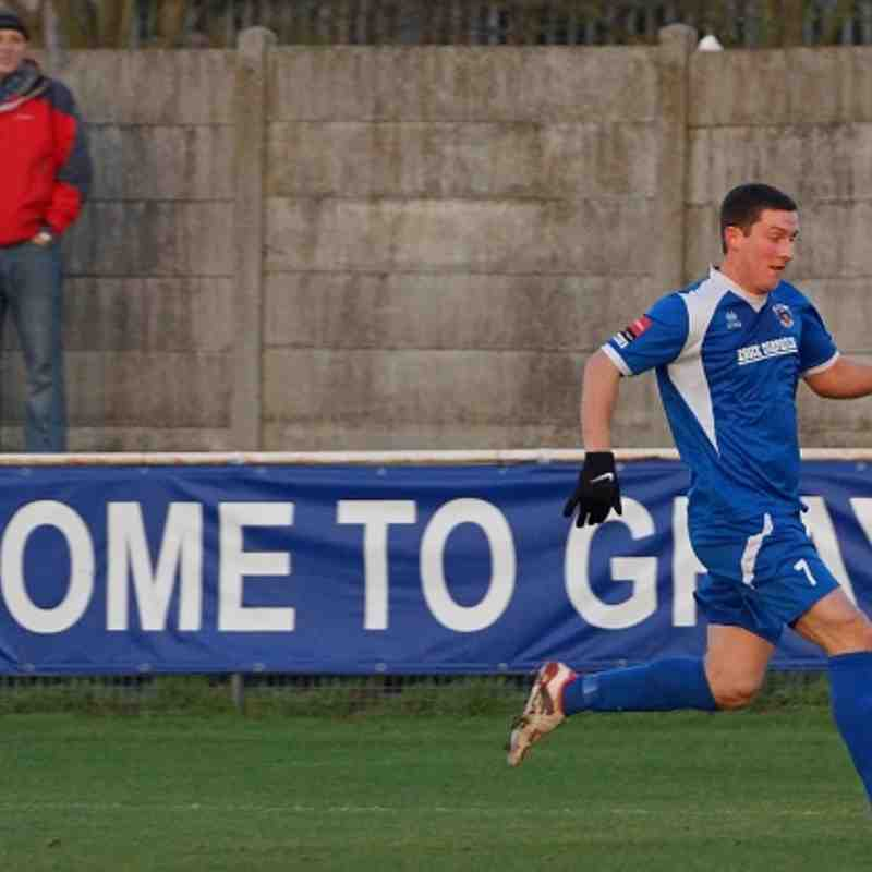 Grays Ath 1 - 1 Witham Town 081212