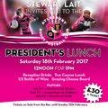Stewart Lait's President's Lunch