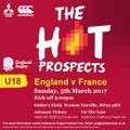 England v France Under 18
