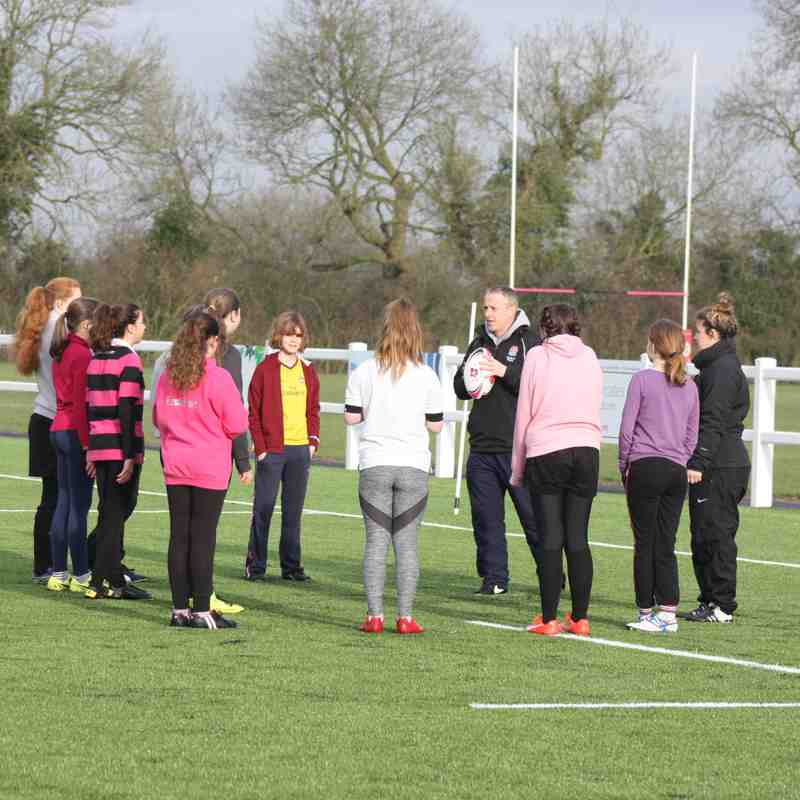 Girls' Rugby Launch