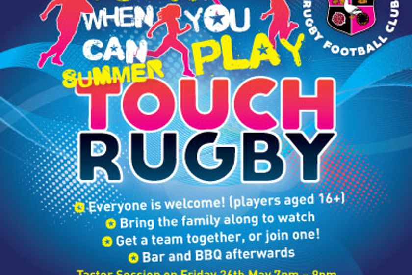 Touch rugby at Aylesbury RFC