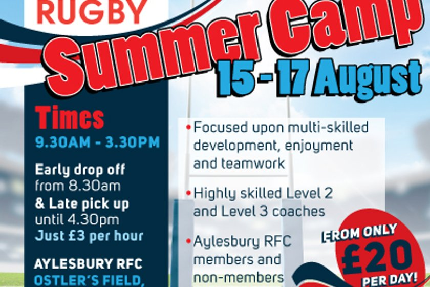 James Buckland Summer Rugby Camp