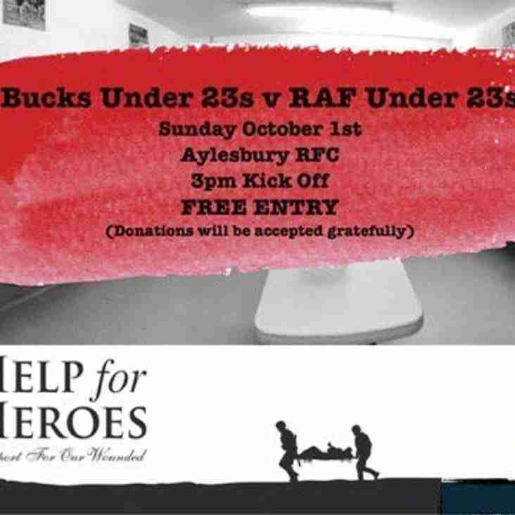 Bucks U23s v RAF U23s