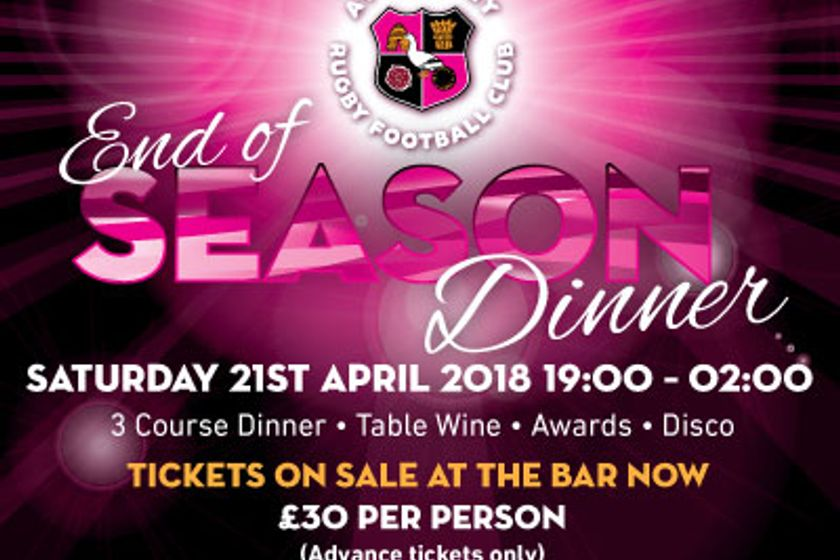 2018 End of Season Dinner