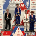 U12 player excelling in Jiu-Jitsu