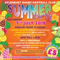 Last chance to get your Summer Party tickets