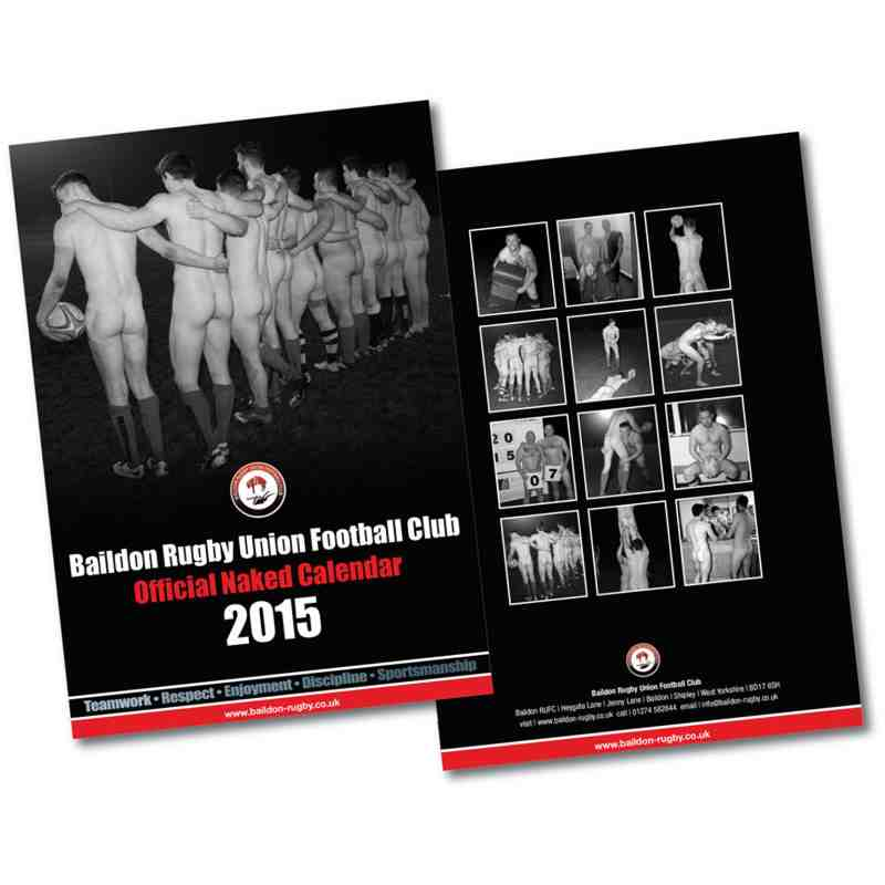 Naked Calendar 2015
