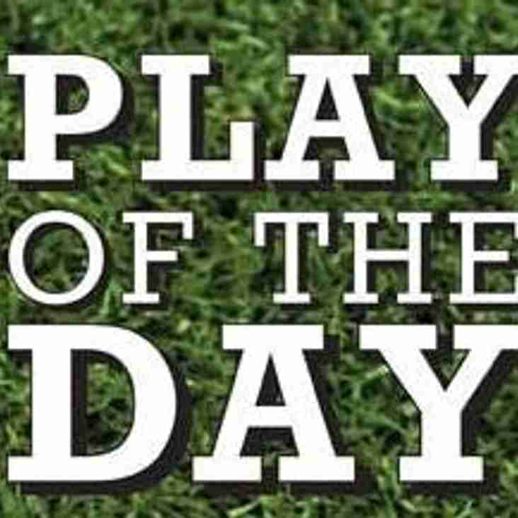 Man of the Match & play of the Day