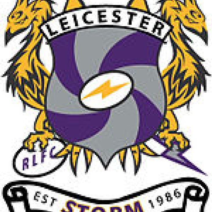 Leicester Storm 44-30 Oxford Cavaliers<