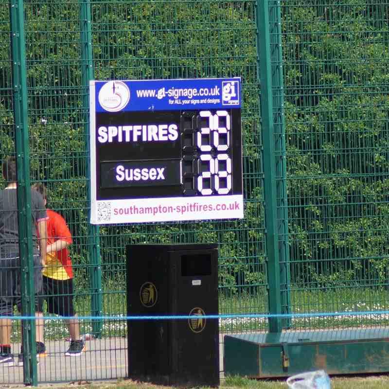 Southampton Spitfires v Sussex Merlins