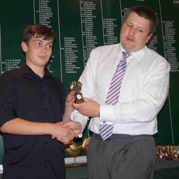Touch Rugby Awards Winners 2016