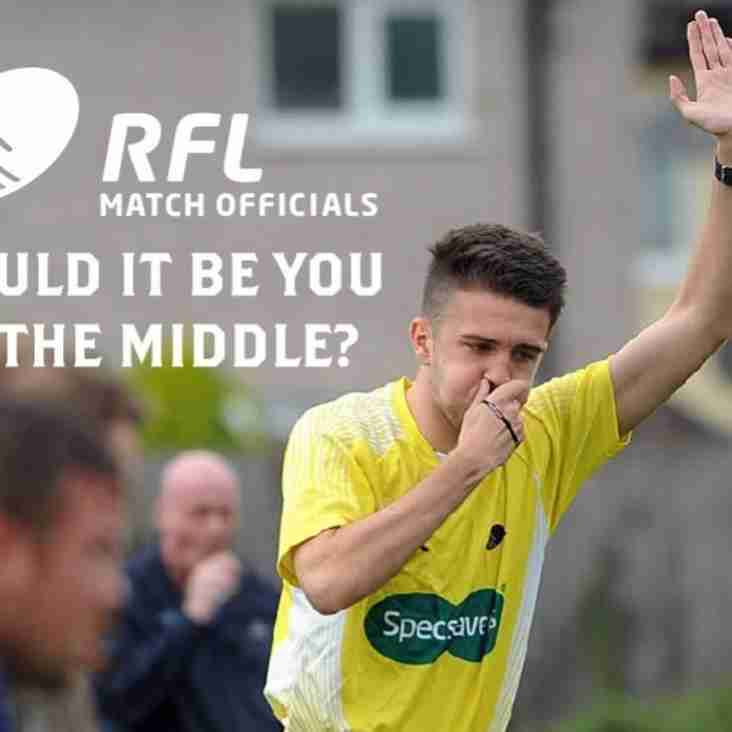 New Referees needed for next summer!