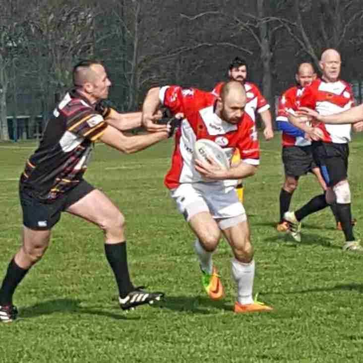 Masters section up and running with a tough away trip to Medway Dragons