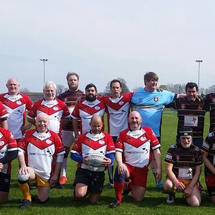 Spitfires Stokes scores first try of the season against Medway Masters
