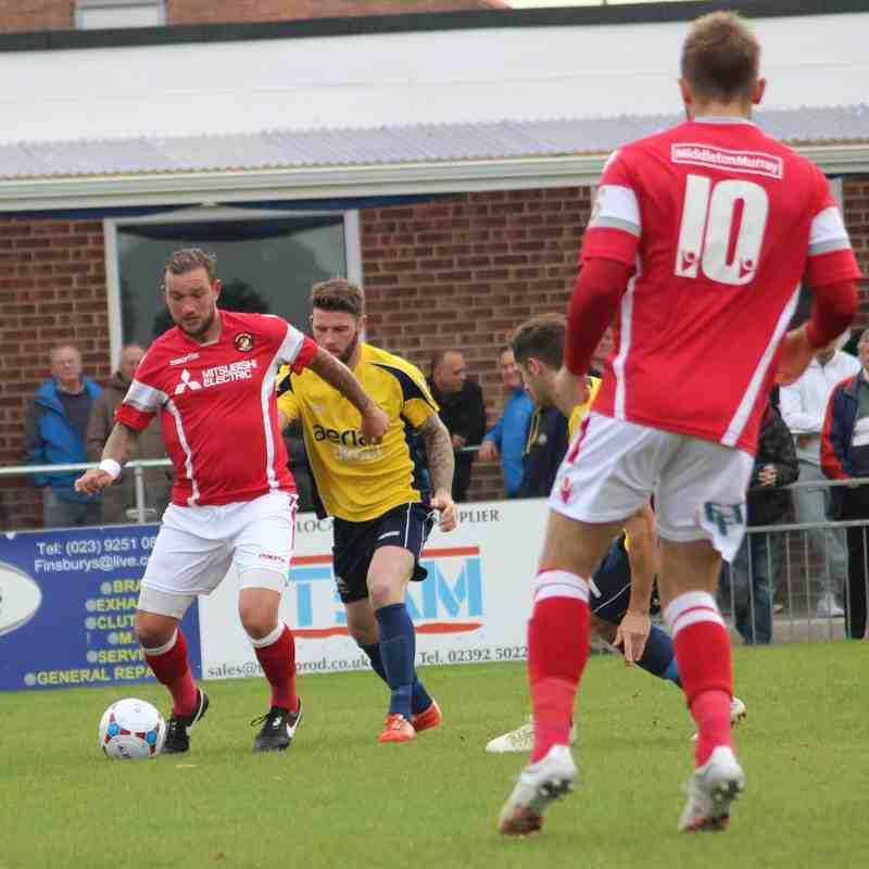 Gosport Borough v Ebbsfleet United