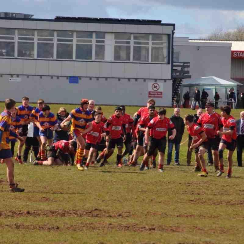 Old Hales Charity Tournament April 2016