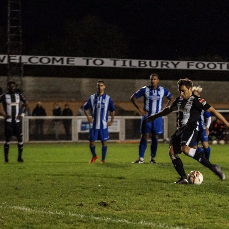 Tilbury Hold On For A Draw