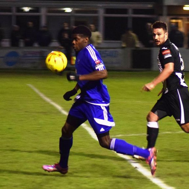 Tilbury Through to Essex Senior Cup Semi's
