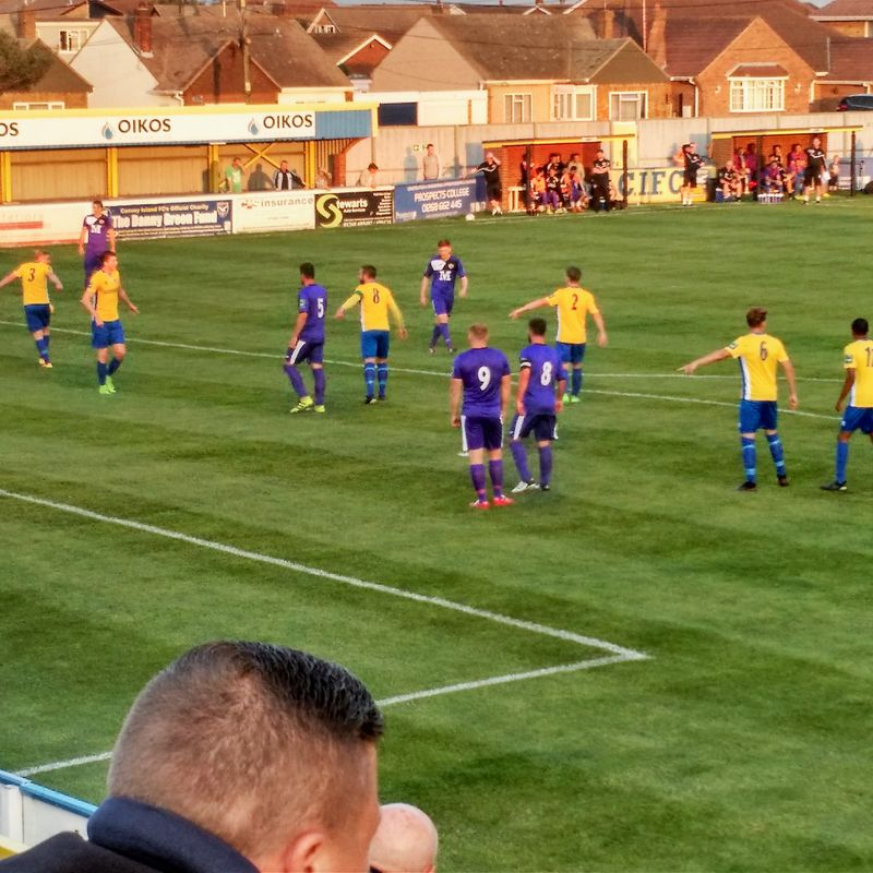 Tilbury Come from Behind to Beat Fancied Side Canvey Island