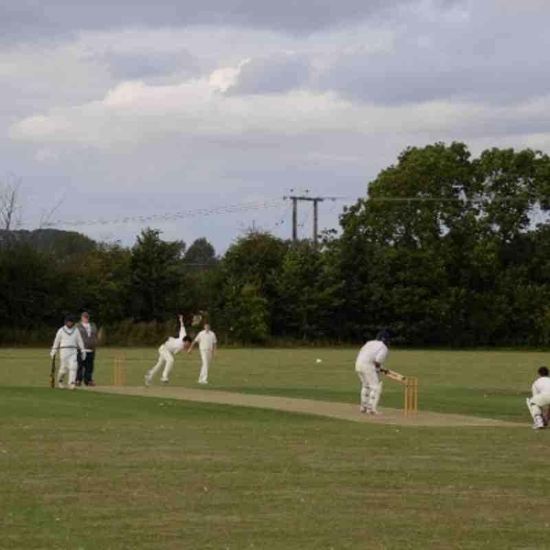 Arthur Hanley's 2nd XI v Harlestone 2011-08-13