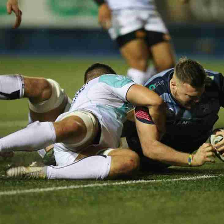 Ex Junior Squirrel Owen Lane makes Cardiff Blues Pro14 debut