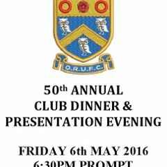 ORUFC 2015-2016 - Seniors Presentation Evening