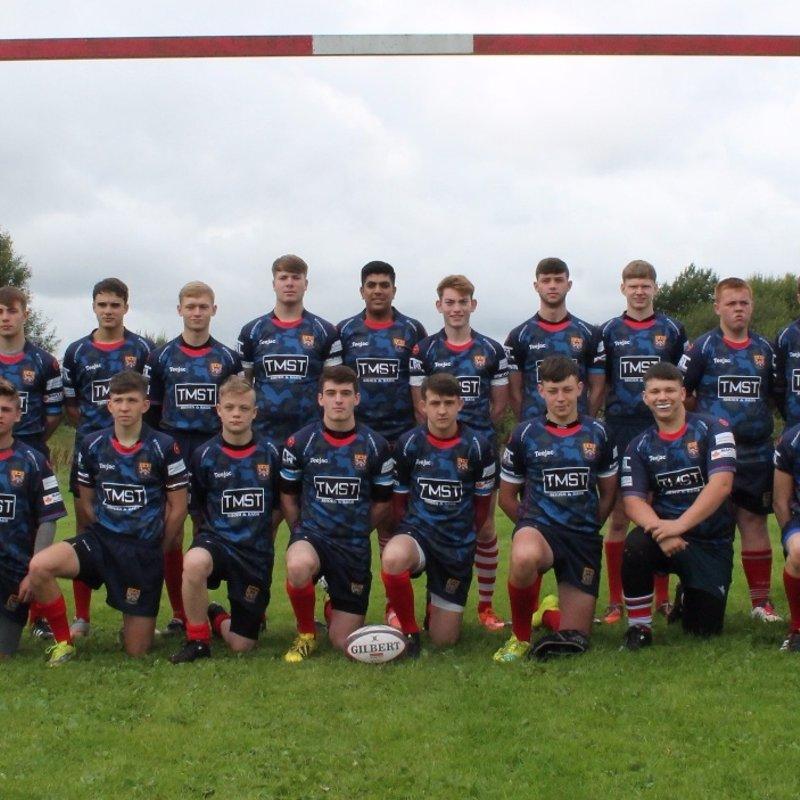 Oldham U17 Junior Colts beat Broughton Park U17 Junior Colts 26 - 22
