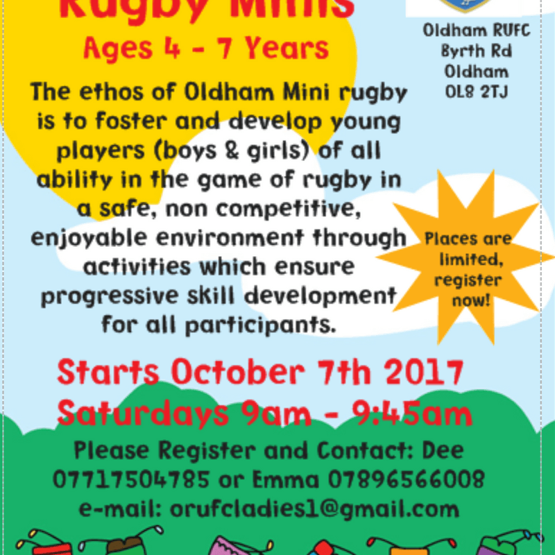 Oldham Rugby Minis