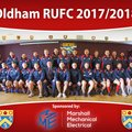Oldham RUFC 1st XV beat Burnley 15 - 27